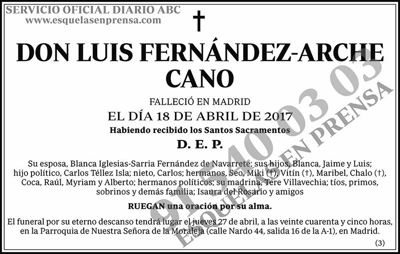 Luis Fernández-Arche Cano